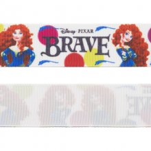 Grosgrainband - 26 mm - Brave/Modig