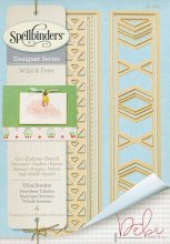 Dies - Spellbinders - Designer Series - Tribal Borders