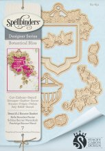 Dies - Spellbinders - Designer Series - Beautiful Banner Basket