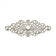 Metalldekoration - Silver - Ornament - 61 mm - xx st